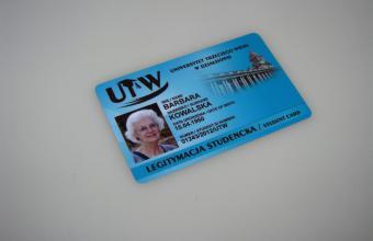 legitymacja studenta Uniwersytetu trzeciego wieku